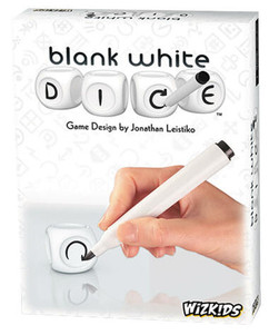 Blank White Dice Game