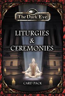 The Dark Eye RPG: Liturgies and Ceremonies Card Set