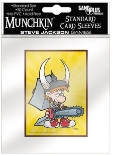 Munchkin: Standard Size Card Sleeves - Spyke (50ct)