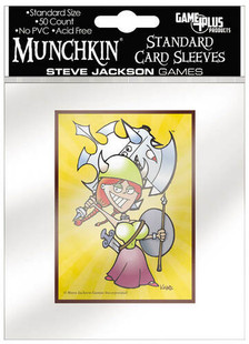 Munchkin: Standard Size Card Sleeves - Flower (50ct)