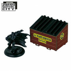 28mm Gothic City: Dumpster (A)
