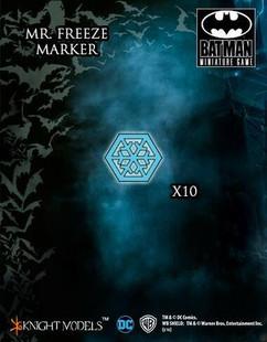 Batman Miniature Game: Mr Freeze Markers