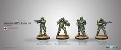 Infinity: Ariadna Marauders 5307th Composite Ranger Unit