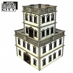 28mm Gothic City: South Point View