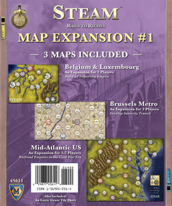 Steam: Rails to Riches - Map Expansion #1