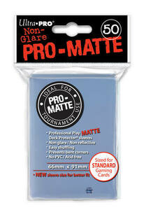 Pro-Matte Clear Deck Protector (50ct)