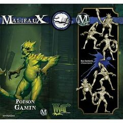 Malifaux: Arcanists - Poison Gamin (Clearance)
