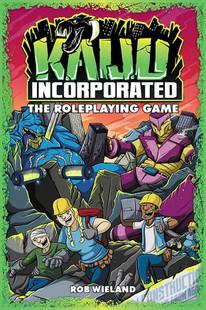 Kaiju Incorporated RPG (Hardcover)