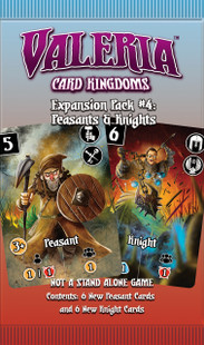 Valeria: Card Kingdoms - Peasants and Knights Expansion #4