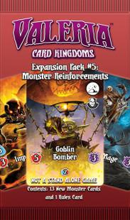Valeria: Card Kingdoms - Monster Reinforcements Expansion #5