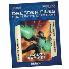 The Dresden Files: Wardens Attack Expansion 3