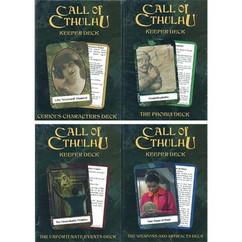 Call of Cthulhu: Keepers Decks (4 Decks)