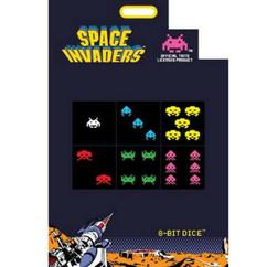 8-Bit Dice Blocks D6 : Space Invaders