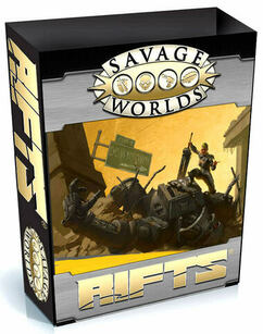Savage Worlds RPG: Savage Rifts - Collector's Box Set