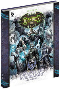 Hordes: Forces of Hordes - Legion of Everblight Command (Hardcover)