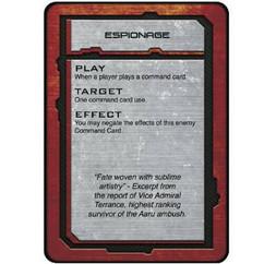 Dropfleet Commander: Shaltari Command Cards (Clearance)