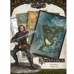 The Dark Eye RPG: Aventuria Map Set