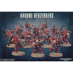 Warhammer 40K: Khorne Berzerkers
