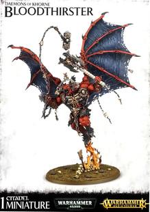 Warhammer 40K/Age of Sigmar: Daemons of Khorne - Bloodthirster