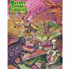 Mutant Crawl Classics RPG (Hardcover)