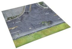 The Walking Dead: All Out War - Atlanta Suburbs Deluxe Gaming Mat