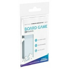 Standard American Board Game Size Premium Soft Sleeves (60ct)