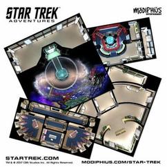 Star Trek Adventures RPG: The Next Generation - Starfleet Tile Set