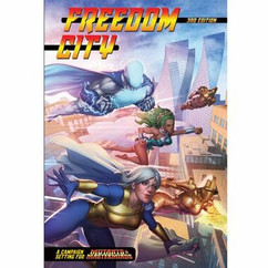 Mutants & Masterminds Third Edition RPG: Freedom City Campaign Setting (Hardcover)