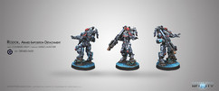 Infinity: Combined Army Rodok, Armed Imposition Detachment (Missle Launcher)