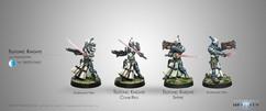 Infinity: Panoceania Tuetonic Knights (Spitfire/Combi Rifle)