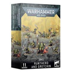 Warhammer 40K: Orks - Runtherd & Gretchin