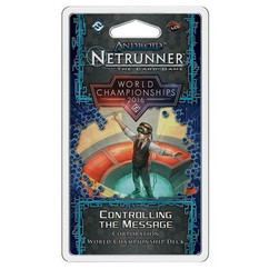 Android: Netrunner LCG - CONTROLLING THE MESSAGE Corporation World Champion 2016 Deck