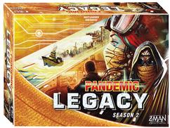 Pandemic: Legacy Season 2  Yellow