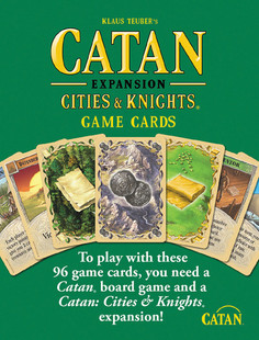 Catan: Cities & Knights - Expansion Game Cards