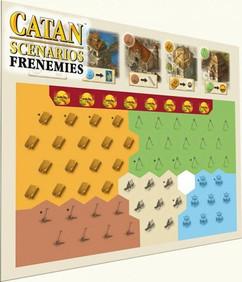 Catan Scenarios: Frenemies of Catan Expansion