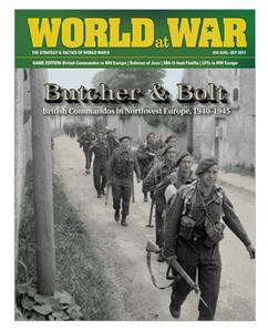 World at War #55 Game Edition: British Commandos in Northwest Europe, 1940-1945