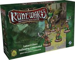 Runewars Miniatures Game: Latari Elves Infantry Command Unit Upgrade Expansion