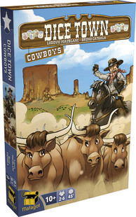 Dice Town: Cowboys Expansion