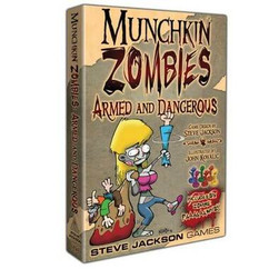 Munchkin Zombies: Armed & Dangerous (Box Edition)