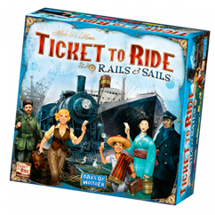 Ticket to Ride: Rails & Sails (On Sale) (Add to cart to see price)