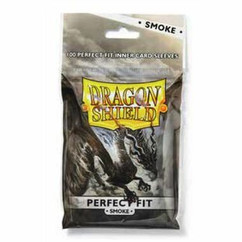Dragon Shield Pefect Fit Inner Card Sleeves - Smoke (100ct)
