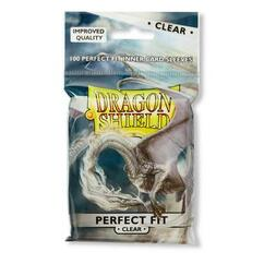 Dragon Shield Perfect Fit Inner Card Sleeves - Clear (100ct)
