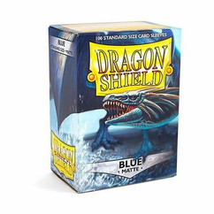 Dragon Shield Matte Blue Standard Size Card Sleeves (100ct)
