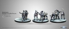 Infinity Aleph: Andromeda Sophistes of the Steel Phalanx Submachine Gun