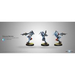 Infinity Panoceania: Crusader Brethren Multi Rifle + Light FT