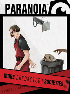 Paranoia RPG: More Redacted Societies