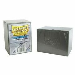 Dragon Shield Deck Box Silver