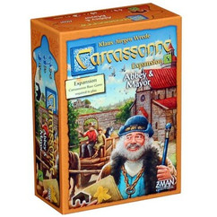 Carcassonne: Abbey & Mayor Expansion 5 (New Edition)