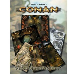 Conan RPG: Forbidden Places & Pits of Horror Tile Set