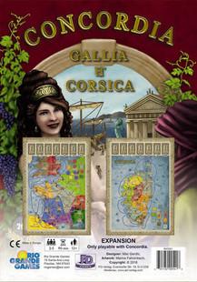 Concordia: Gallia & Corsica Expansion